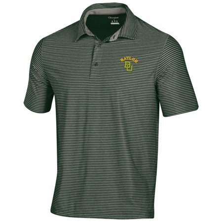 Tonal Jersey Stripe Polo - Baylor University Bears Men's Polo Champion Tonal Stripe Polo