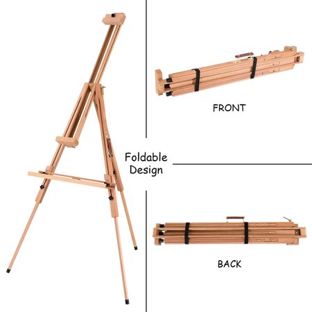 Foldable Wood Tripod Easel Sketching & Painting Tilting Display Stand Art  Craft