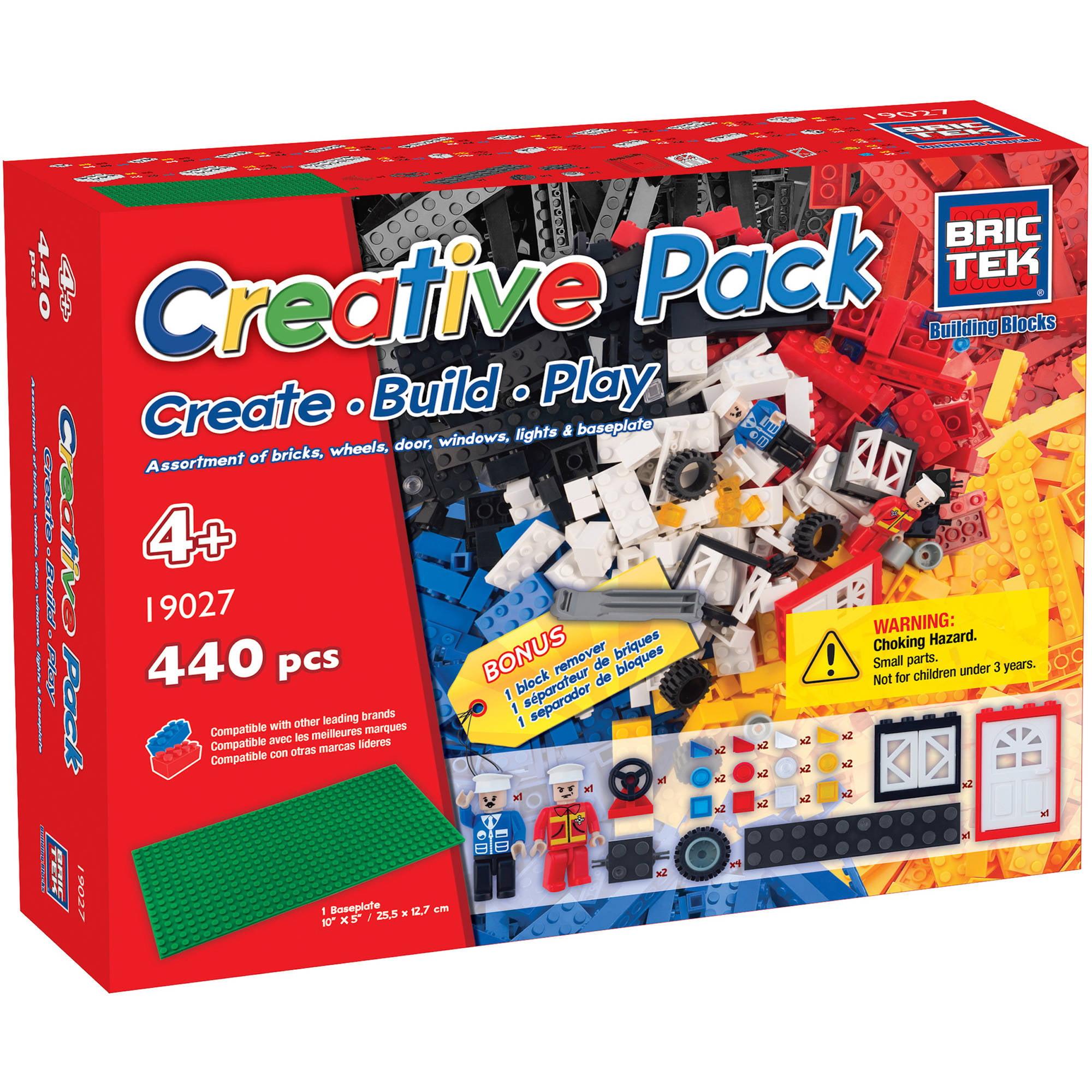 BricTek 440-Piece Creative Pack