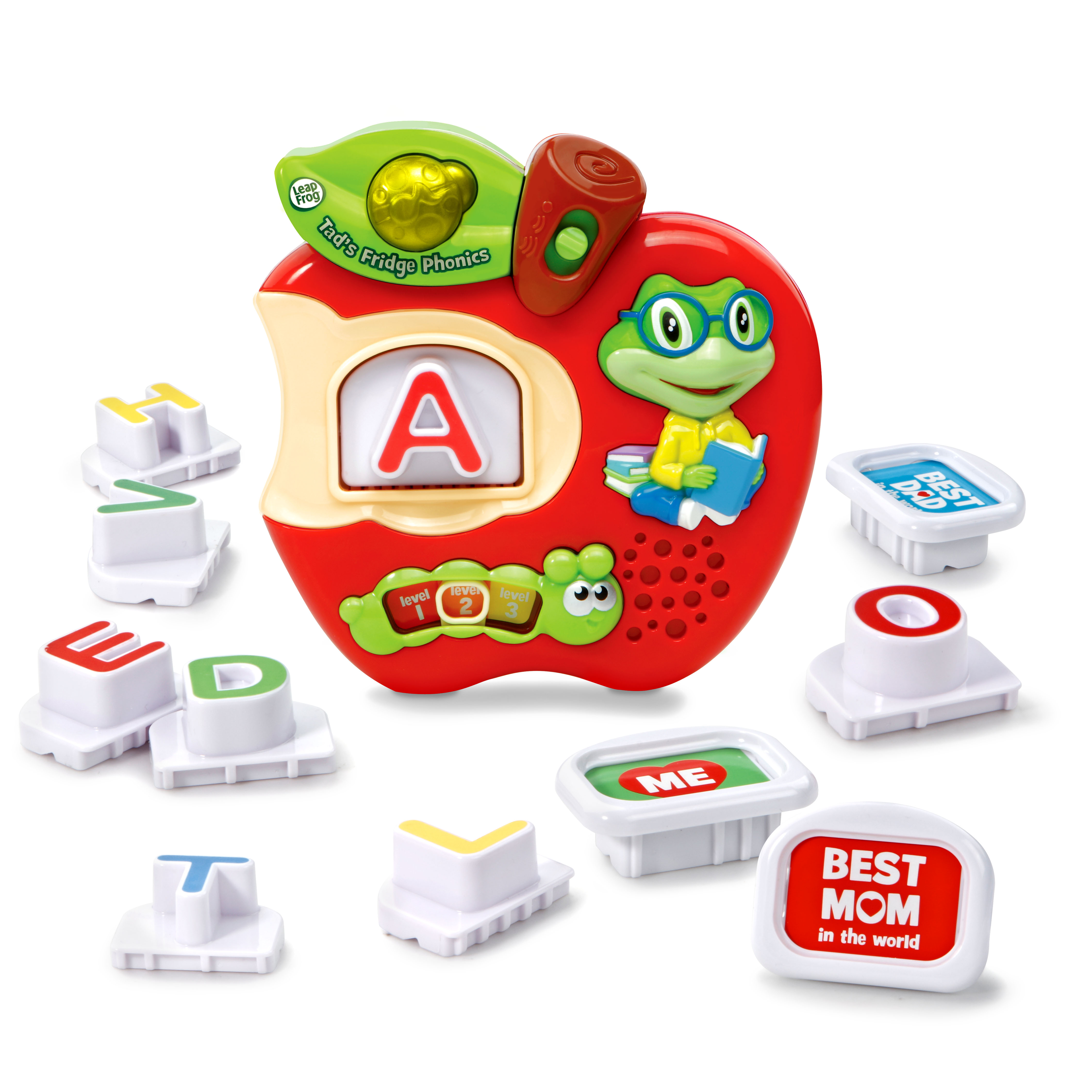 Teach Sing Talk Leap Frog Fridge Phonics 26 Magnetic Letter Set Alphabet Word