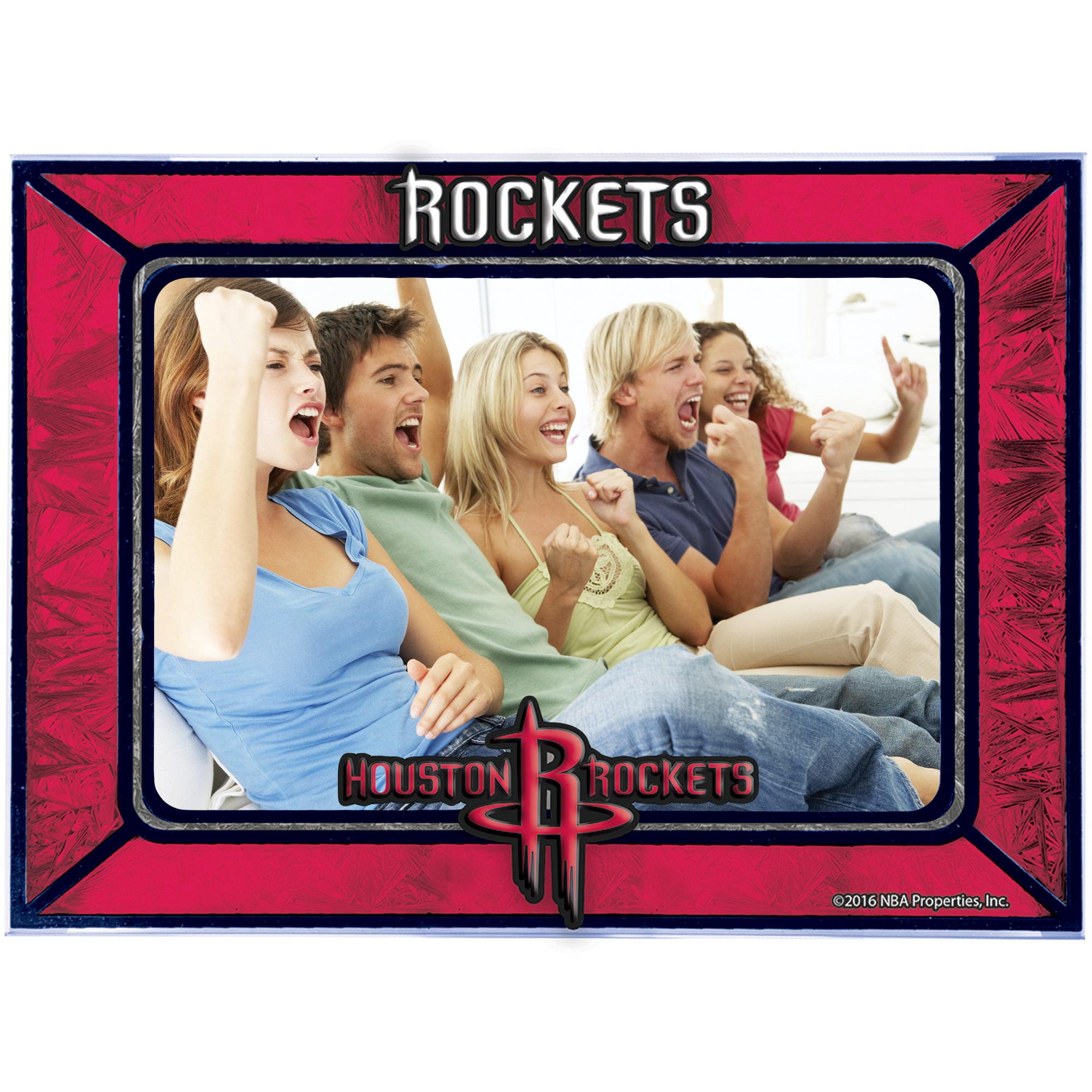 Houston Rockets Horizontal Art Glass Frame - No Size