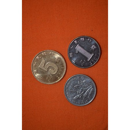 LAMINATED POSTER Coins Prc Chinese Coin Small Currency Value Poster Print 24 x 36 - Chinese Coins Value