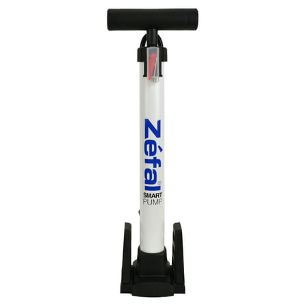 Zefal Bicycle Smart Pump (80 PSI, Schrader and Presta (Best Bike Pumps For Presta Valves)