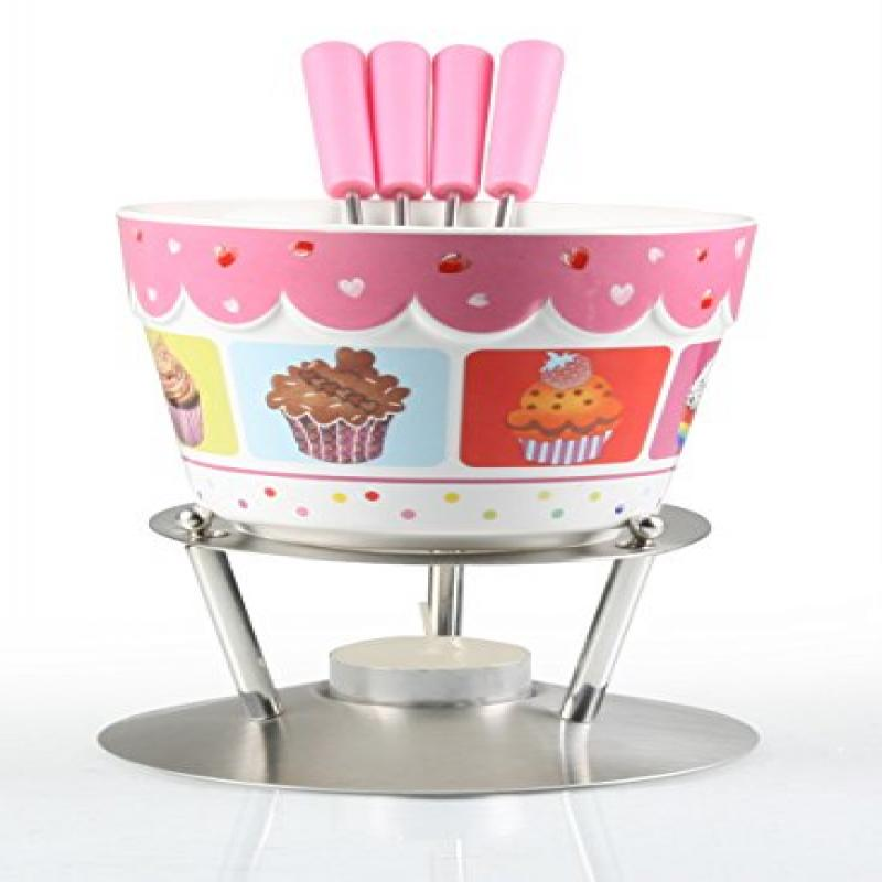 Artestia Chocolate Fondue Set Cupcake Party (6 Pieces) by