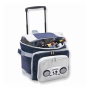 Cooladio Radio Cart in Navy and Gray