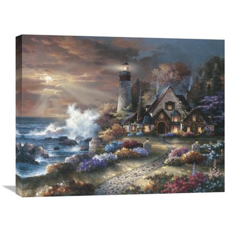 Global Gallery Guardian Of Light By James Lee Painting On Wrapped Canvas
