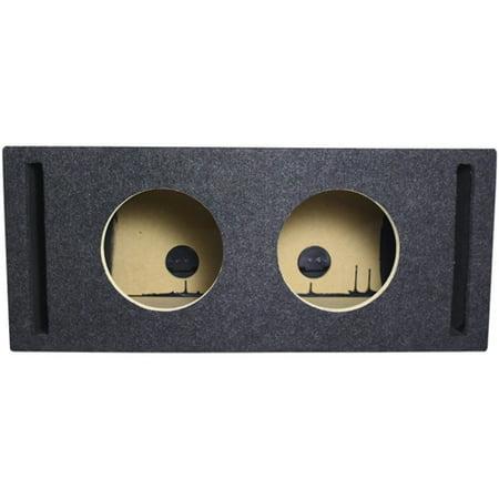 """Atrend 8DQV Dual 8"""" Vented Subwoofer Enclosure Box"""