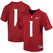 #1 Washington State Cougars Nike Youth Untouchable Football Jersey - Crimson