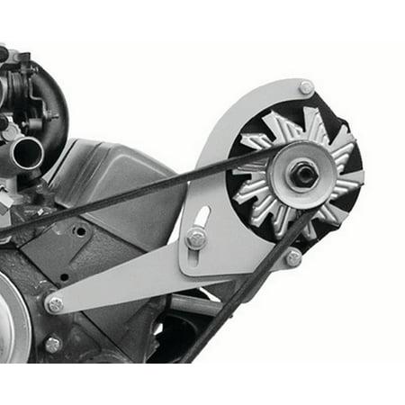 ALAN GROVE Components SBC Head Mount Low Profile Alternator Bracket Kit P/N (Best Open Chamber Sbc Heads)