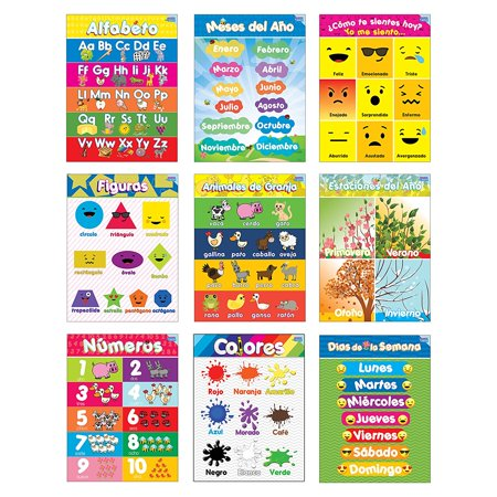 Educational Preschool Posters for Toddlers and Kids Perfect for Children Preschool & Kindergarten Classrooms](Classroom Games)