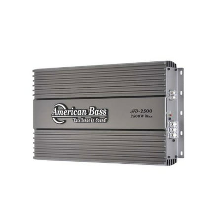 American Bass HD-2500 HD Series 2500 Watts Max Monoblock Car Amplifier