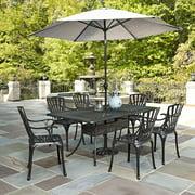 Largo 7PC Dining Set w/ Umbrella