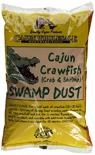 Cajun Crawfish (Crab & Shrimp) Swamp Dust 2lb by cajun wholesale