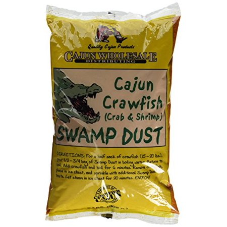 Cajun Crawfish (Crab & Shrimp) Swamp Dust 2lb (Shrimp)