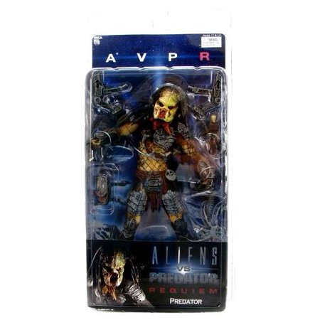 NECA Alien vs Predator Series 2 Predator Action Figure [Unmasked Wolf]
