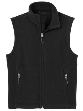 Port Authority Youth Super Soft Fleece Warmth Drawcord Vest