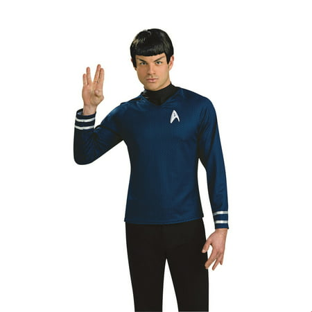 Star Trek Mens Spock Wig W/ Ears Halloween Costume Accessory - Spock Ears And Wig