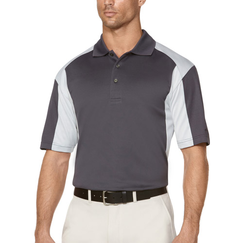 Ben Hogan Men's Short Sleeve color block Print Polo