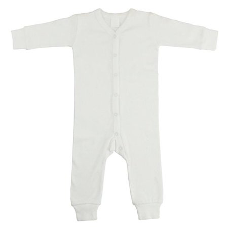 Interlock Union Suit Long Johns, White - Medium John Deere Toddler Pajamas