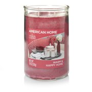 American Home by Yankee Candle Warm & Happy Home, 19 oz Large 2-Wick Tumbler