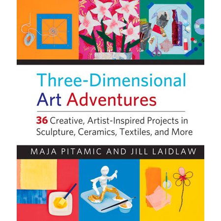 Three-Dimensional Art Adventures : 36 Creative, Artist-Inspired Projects in Sculpture, Ceramics, Textiles, and More - Preschool Halloween Art Projects