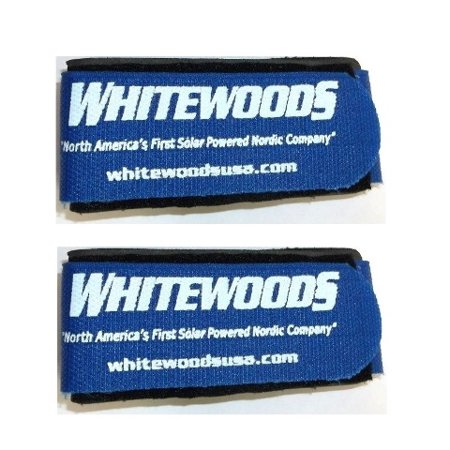 Whitewoods Set (2) Cross Country Ski Ties, Hold Together Easier to Carry,