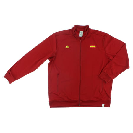 Adidas Mens Spain World Cup Track Jacket Red (Adidas Mens 2006 World Cup)