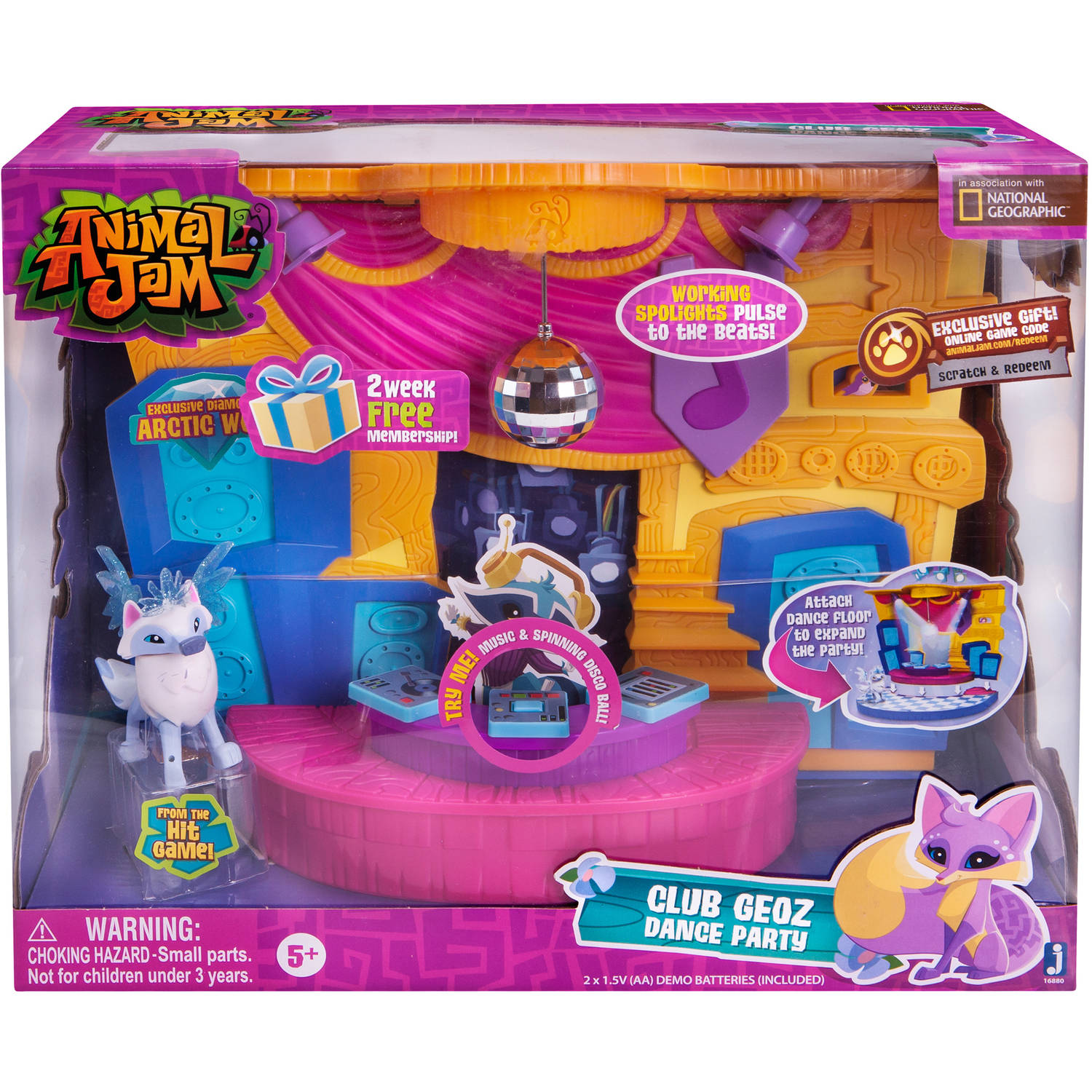 Animal Jam Club Geoz Play Set Walmart Com