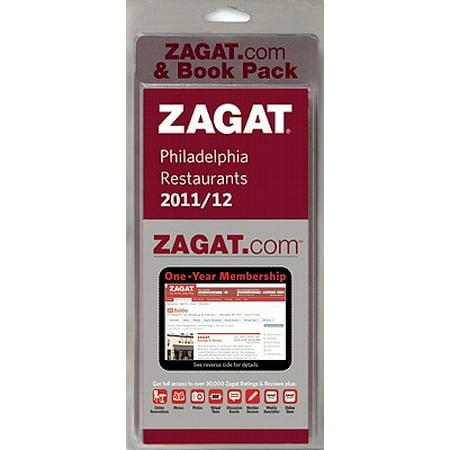 Zagat Philadelphia Zagat.com & Book Pack [With Map and Zagat.com] on