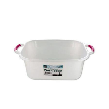 Kole Imports OT020-6 Rectangular Multi-Purpose Wash Basin - Pack of 6 - image 1 de 1