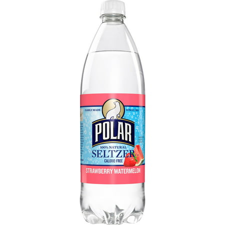 Polar Seltzer Water, Strawberry Watermelon, 33.8 Fl Oz, 12