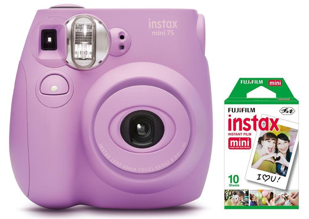 Fujifilm Instax Mini 7S Instant Camera (with 10-pack film) - Lavender