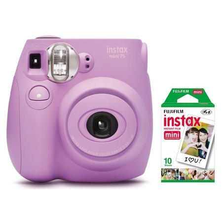 Fujifilm Instax Mini 7S Instant Camera (with 10-pack film) - Lavender