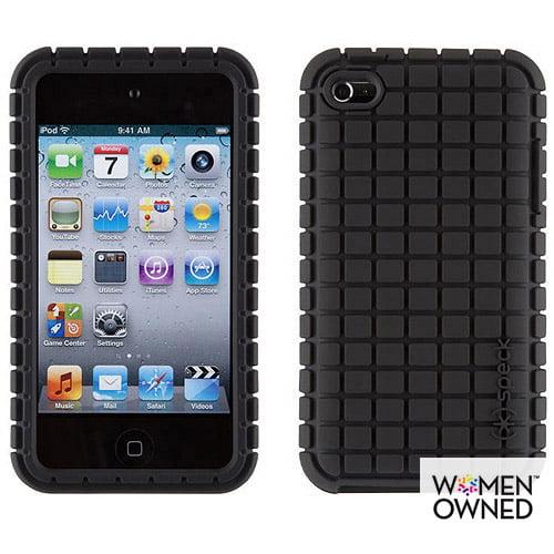 PixelSkin Case for iPhone 4, Black