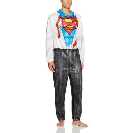 DC Comics Superman Clark Kent Men's Cosplay Union Suit for $<!---->