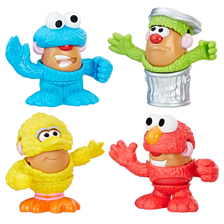 Playskool Friends Mr. Potato Head Sesame Street Spuds Mini Container ...