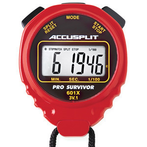 Accusplit Pro Survivor (A601X) Stopwatch - Green