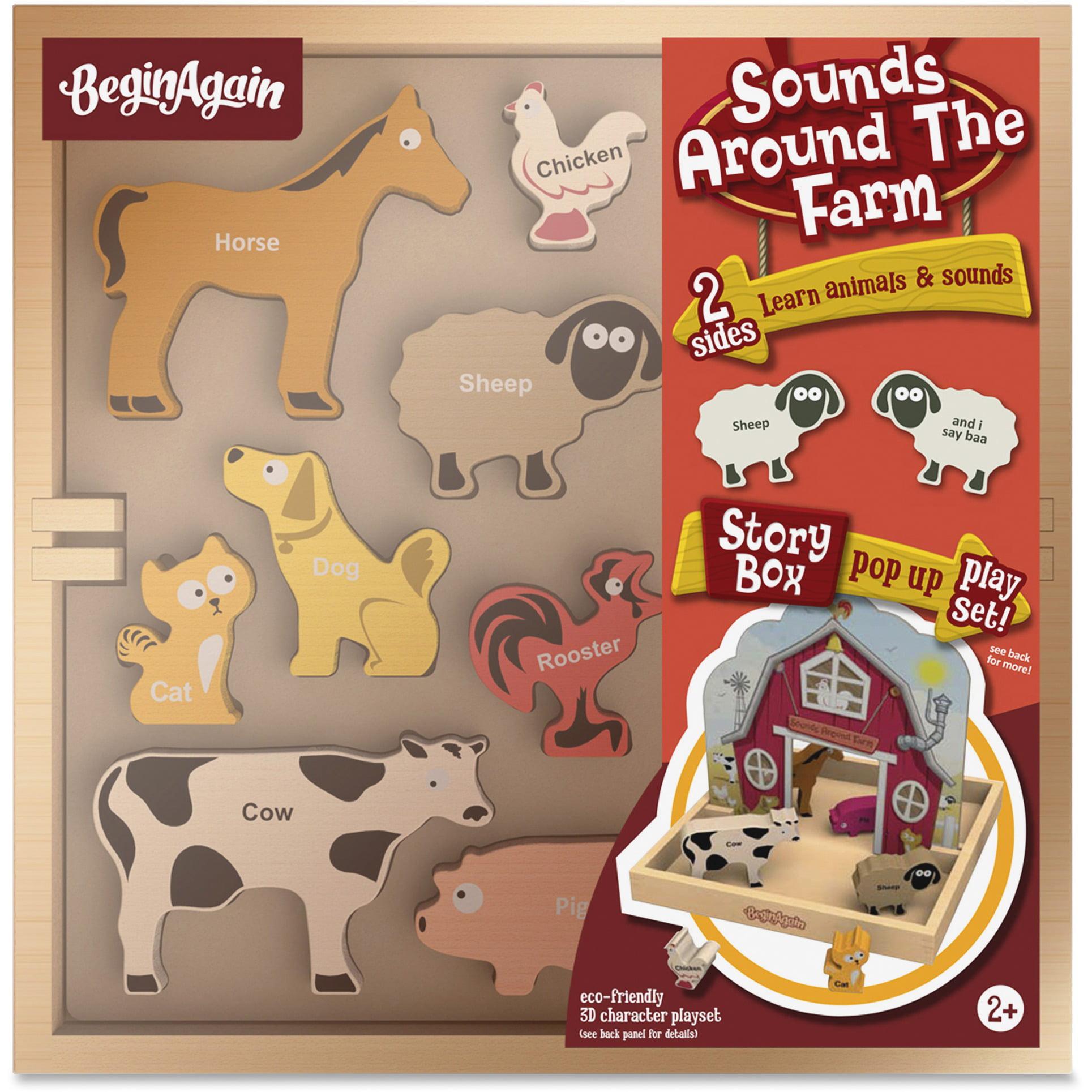 BeginAgain Toys Sounds Around the Farm Story Box by BeginAgain
