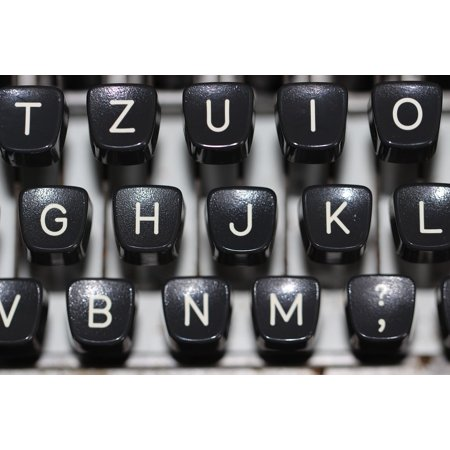 LAMINATED POSTER Keyboard Blog Vintage News Type Typewriter Poster Print 24 x 36](Home Decor Blogs Halloween)
