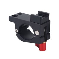 Tebru Rod Clamp Holder, Light Mount Stand Bracket Rod Clamp Holder for DJI Ronin-M Feiyu for Zhiyun Monitor Accessory, Monitor Rod Clamp