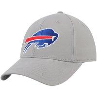 Men's Gray Buffalo Bills Basic Adjustable Hat - OSFA