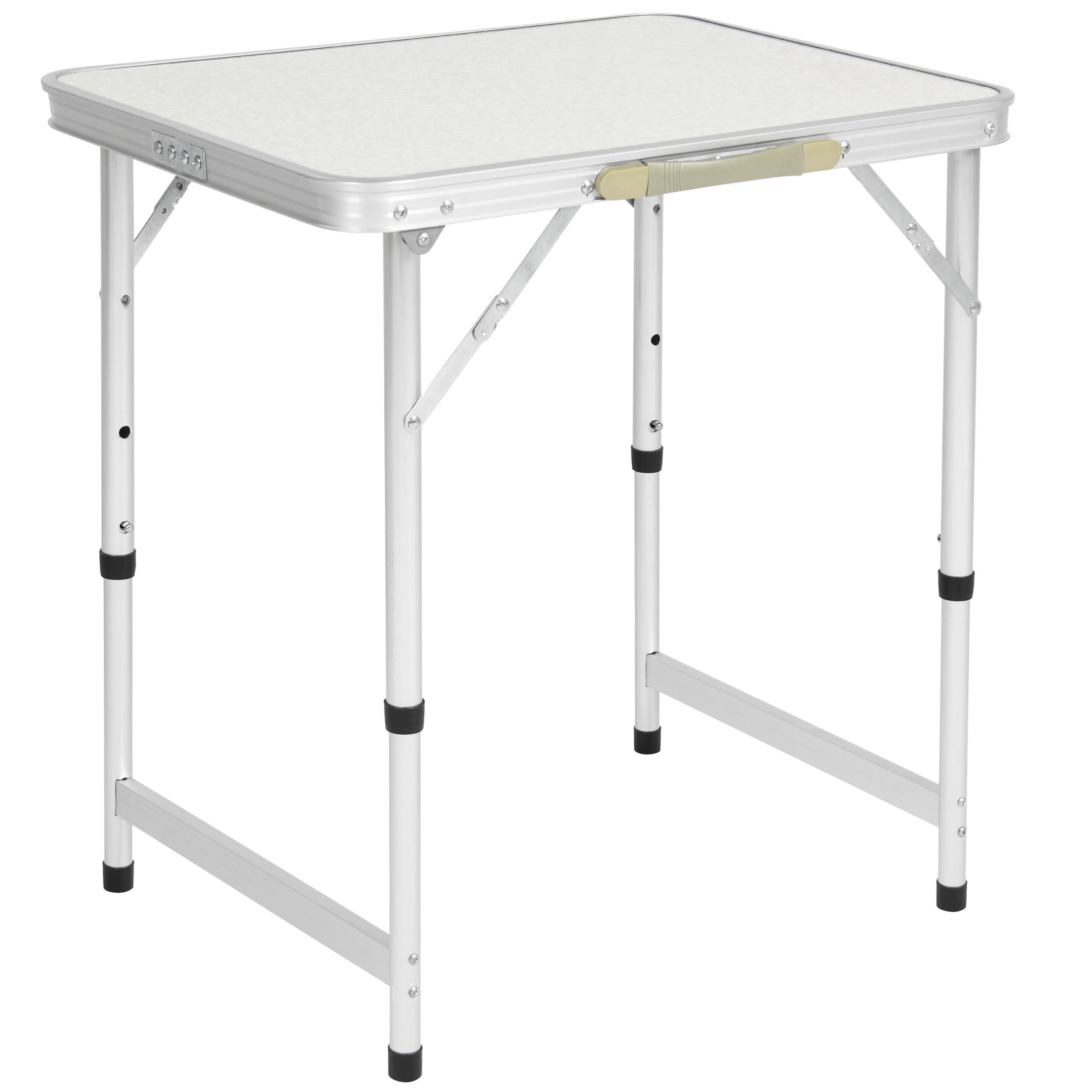 "Best Choice Products BCP Aluminum Camping Picnic Folding Table 23.5"" x 17.5"" Portable Outdoor by"