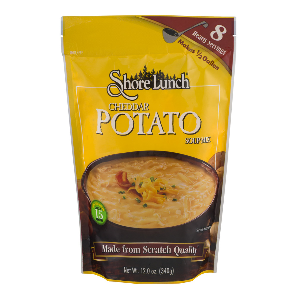 Shore Lunch Cheddar Potato Soup Mix, 12.0 OZ