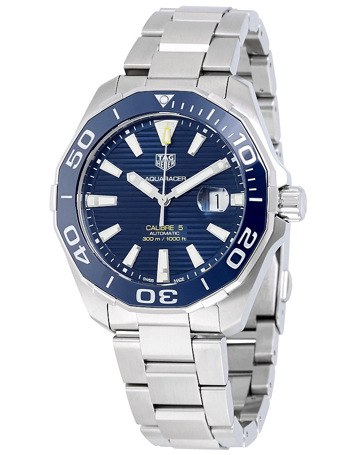 Tag Heuer  Men's  'Aquaracer' Automatic Stainless Steel Watch