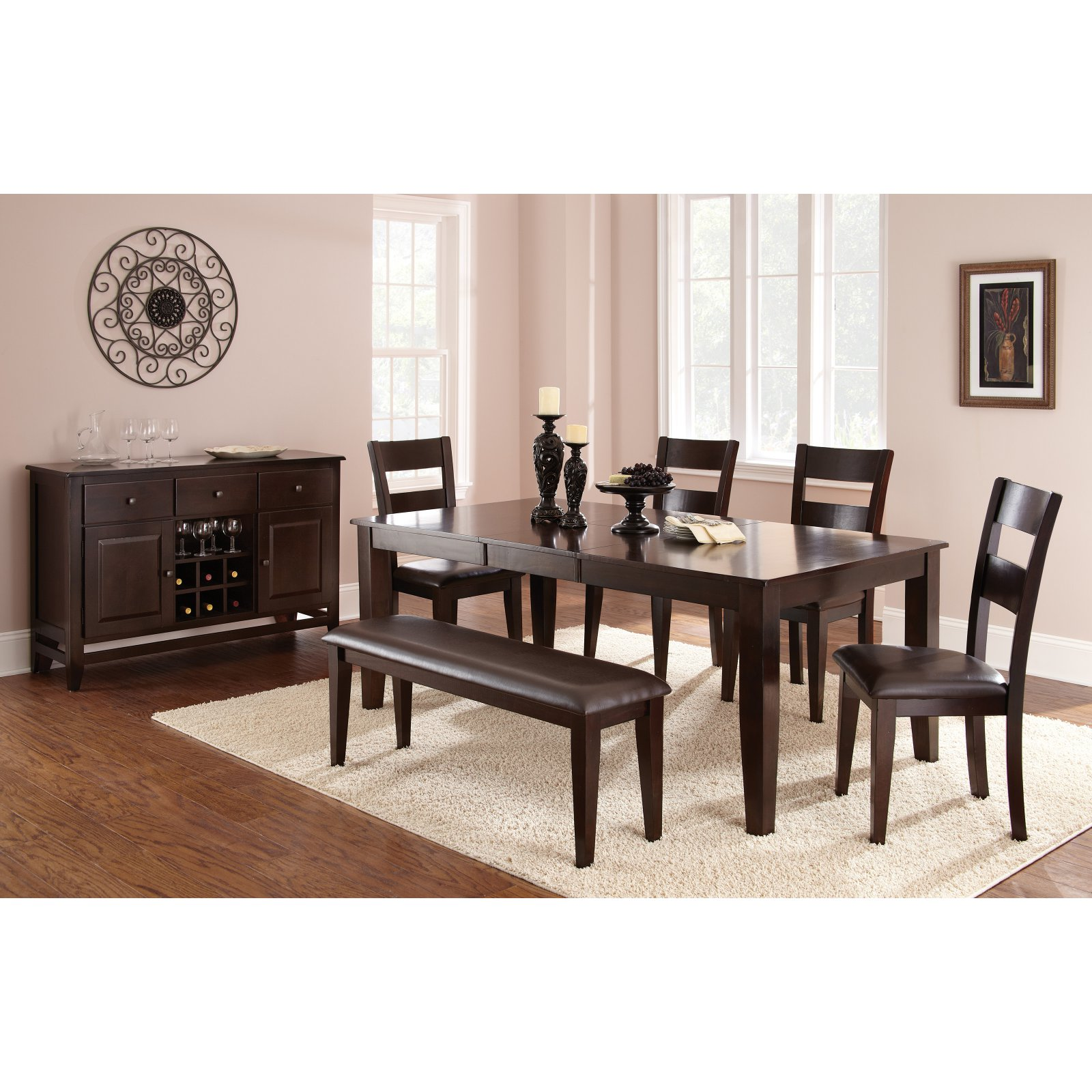 Steve Silver Victoria Dining Table   Mango