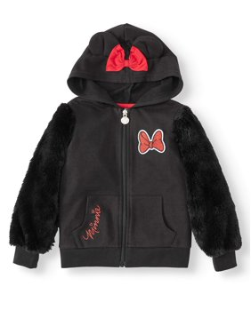 Minnie Mouse French Terry Costume Hoodie (Toddler Girls)