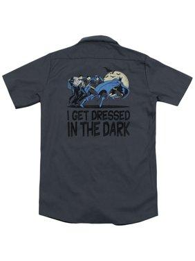 DC Comics Get Dressed (Back Print) Mens Work Shirt