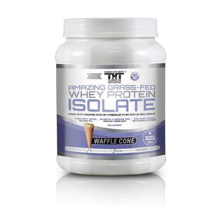 Amazing Grass Fed Whey Protein Powder made with Probiotic's, Digestive Enzymes & Organic Stevia. High Quality Protein Shake for High Quality Customers who value the best