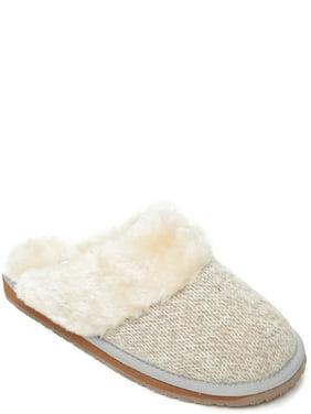 Portland Boot Company Faux Fur Trim Slipper (Women's)