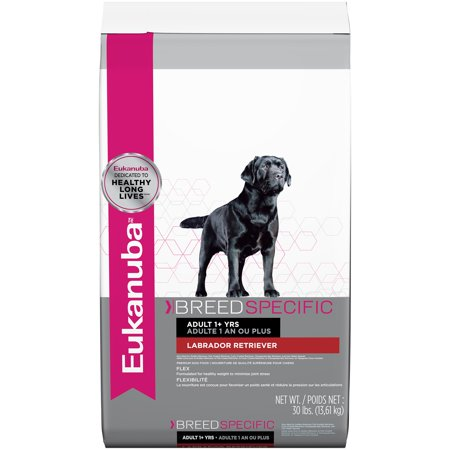Eukanuba Breed Specific Labrador Retriever Nutrition Dry Dog Food, 30
